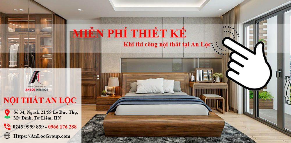 Thiết kế thi công nội thất tại An Lộc