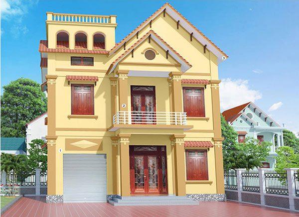 Màu sơn nhà đẹp cho người mệnh Kim