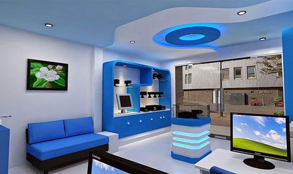 Ảnh 9 - Sơn nội thất màu xanh lam