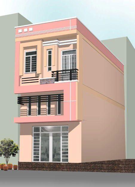 Ảnh 41 - Sơn nhà đẹp màu hồng