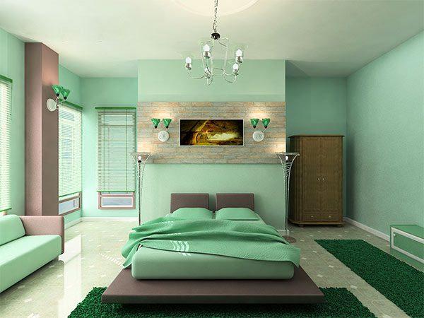Ảnh 48 - Sơn nhà màu pastel xanh lá
