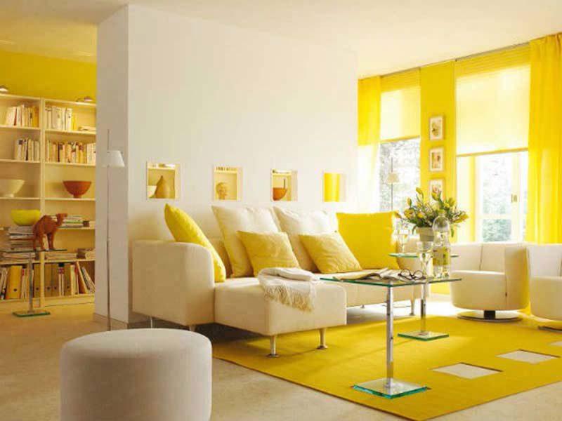 Ảnh 49 - Sơn nhà màu vàng Pastel